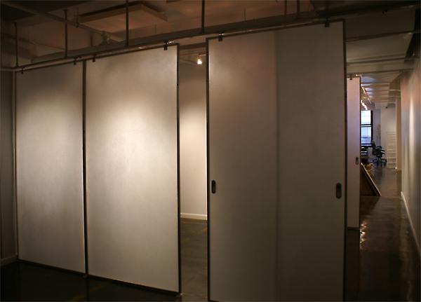 backlit transluscent panels