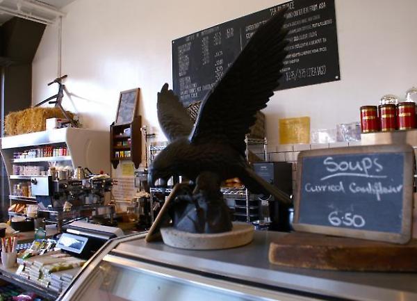 eagle and cauliflower soup