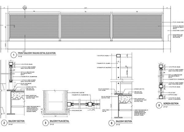 railing details