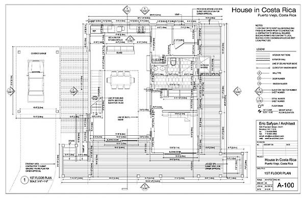 House in Costa Rica – Costa Rica Home Floor Plans